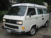 1987 Volkswagen BusVanagon Westfalia Camper Van Pop Top
